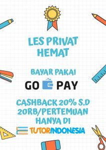 gopay promo tutorindonesia