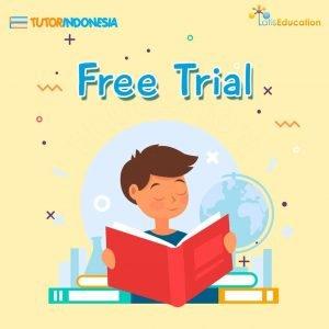 coba gratis free trial les privat tutorindonesia